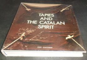 2手英文 Antoni Tapies and the Catalan Spirit 塔皮埃斯 图书馆用书 裂 xge81