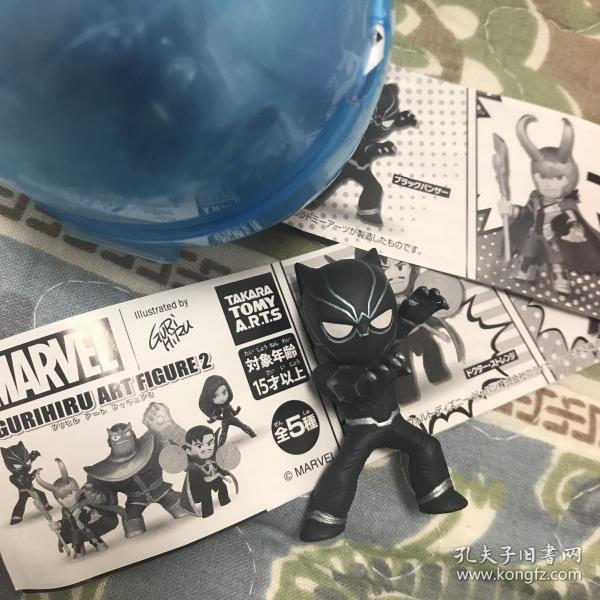卡通动漫 美漫漫威 潮流人物扭蛋摆件玩偶 复仇者联盟妇联 黑豹Q版