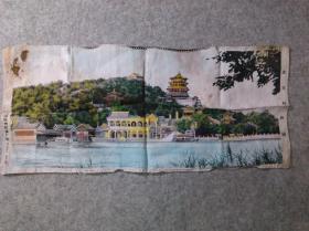 中国杭州织锦厂制 北京颐和园