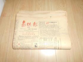 象棋报 (1986年全年1-24期)(缺2期:总65、71)22份合售