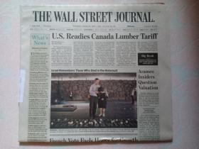 THE WALL STREET JOURNAL 华尔街日报 2017/04/25  外文原版报纸