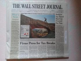 THE WALL STREET JOURNAL 华尔街日报 2017/12/05  外文原版报纸