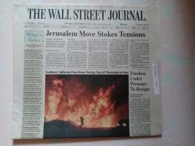 THE WALL STREET JOURNAL 华尔街日报 2017/12/07  外文原版报纸