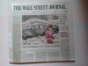 THE WALL STREET JOURNAL 华尔街日报 2017/07/03  外文原版报纸