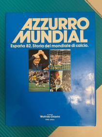 1982世界杯意大利原版画册