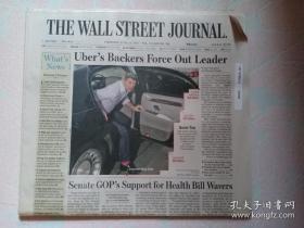 THE WALL STREET JOURNAL 华尔街日报 2017/06/22 外文原版报纸