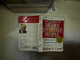 The 7 Habits of Highly Effective People:Powerful Lessons in Personal Change  高效能人士的7个习惯:个人变革的有力教训