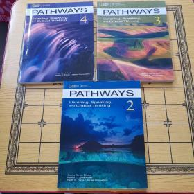Pathways 2,3,4: Listening Speaking And Critical Thinking(3本合售)原版书