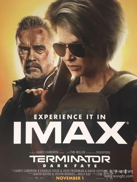 终结者I MAX2019年电影海报