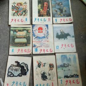 1984年少年文艺1 2 3 4 6 8 10   11   12期9本合售如图(可以单卖)