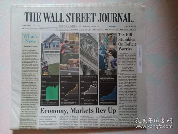 THE WALL STREET JOURNAL 华尔街日报 2017/12/01   外文原版报纸