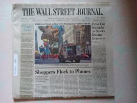 THE WALL STREET JOURNAL 华尔街日报 2017/11/24   外文原版报纸