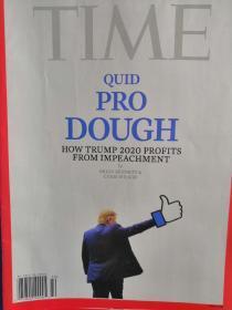 time特朗普封面
