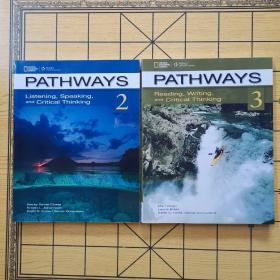 Pathways 2,3 : Listening Speaking And Critical Thinking(原版书)2本合售