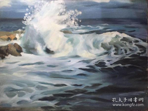 高泉海景油画 店