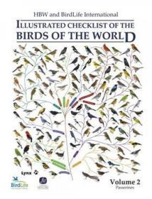 HBW and Birdlife International Illustrated Checklist of the Birds of the World. Vol. 2: Passerines