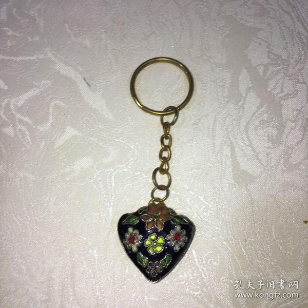 景泰蓝钥匙坠