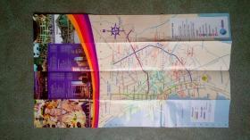 旧地图-菲律宾旅游地图英文版(2007年)4开85品