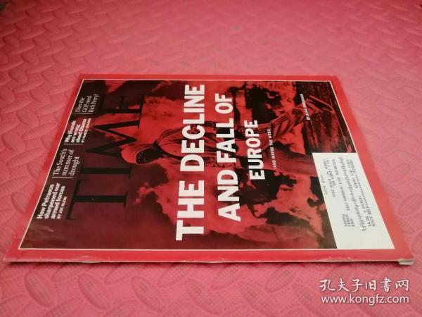 Time August 22,2011(品相如图)(英文原版,美国时代周刊) 最佳英语阅好英语学习资料|/英文原版杂志