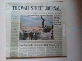 THE WALL STREET JOURNAL 华尔街日报 2017/12/06  外文原版报纸