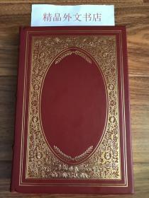 近全新!【现货在美国家中、2周左右到国内、全国包顺丰】Favorite Household Tales,《格林童话》,The Brothers Grimm / 格林兄弟(著),富兰克林图书馆出版的世界永恒经典100本名著系列丛书之一, 1981年限量版 A Limited Edition(请见实物拍摄照片第4、5张版权页),精装,厚册(391页),豪华全真皮封面,三面刷金,珍贵外国文学参考资料!