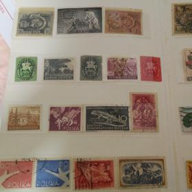 米老鼠美国苏联邮票