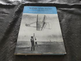 WTND AND SAND The Story of the Wright Brothers at Kitty Hawk  英文版 书内英文签名 精装 品好 现货 当天发货