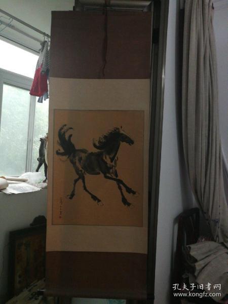 木版水印-徐悲鸿《马》