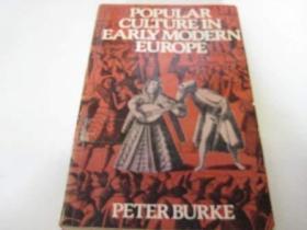 Popular Culture in Early Modern Europe