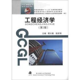 工程经济学第2版 谭大璐赵世强 武汉理工大学出版社 97875629