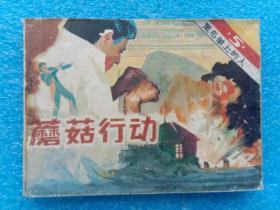 蘑菇行动 黑名单上的人5 广播出版社1983年1版1印(特别行动小组接受了炸毁敌人通讯大楼的任务)