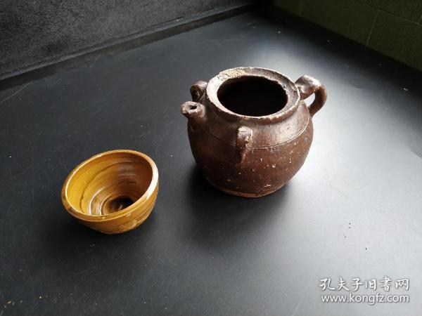 民清老陶壶老茶壶老陶罐
