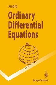 Ordinary Differential Equations (Springer Textbook)
