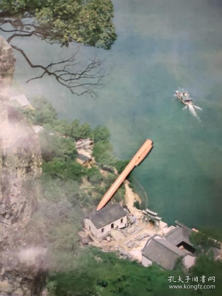 富春江小船风景摄影图片