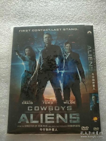 牛仔和外星人DVD