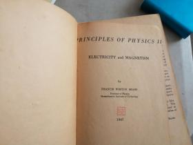 PRINCIPLES OF PHYSICS II ELECTRICITY  AND MAGNETISM