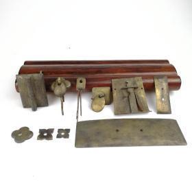 铜杂件铜配件古玩老铜器古董老铜活