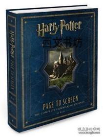 【包邮】2011年出版 Harry Potter Page To Screen