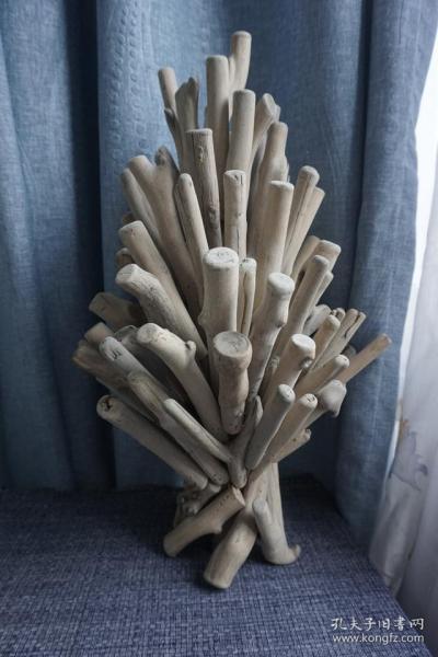 工作室艺术作品木雕摆件