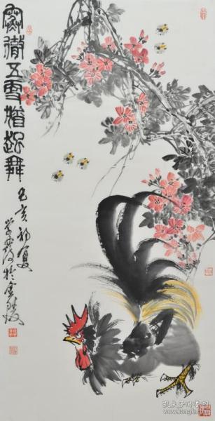 钱学发,出生于1964年,南京人,斋名听雨楼、默耘斋,别号苦生、半残道人、梅郎,当代实力派画家。