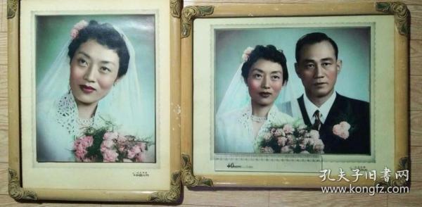 50年代大结婚照2幅
