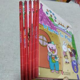 布朗儿童英语2.0 Level Two(6-10册,5本合售)
