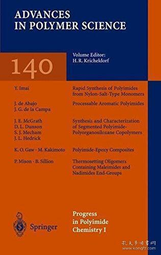 Progress in Polyimide Chemistry I