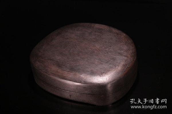 旧藏 文房人物故事盖砚