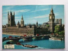 英国伦敦桥梁老照片明信片。价格运费可协商