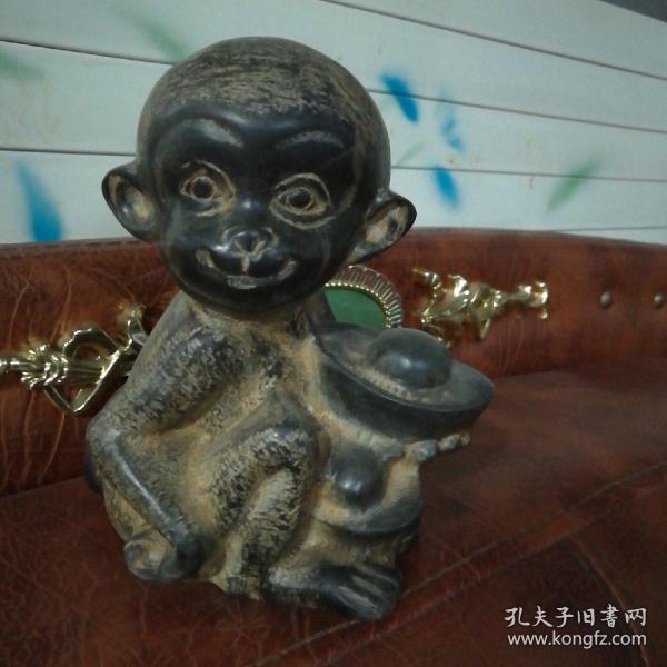 招财猴,山西石雕