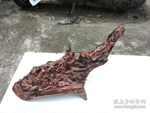七八十年代海南黄花梨东洋工艺雕