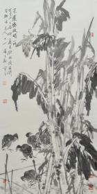 潘华,中国美协工笔画学会会员,中国书法家协会会员,国家一级美术师,浙江美协会员,慈溪画院副秘书长,慈溪美协副主席。