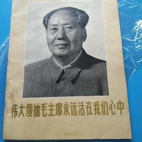 伟大的领袖毛主席永远活在我们心中《辽宁画刊》