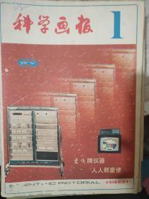 """《科学画报 1981 1》电子计算机闯入""""大观园""""、1986年:本世纪最后一次相会、改造生命的有力工具、揭开器官移植成败的奥秘......."""
